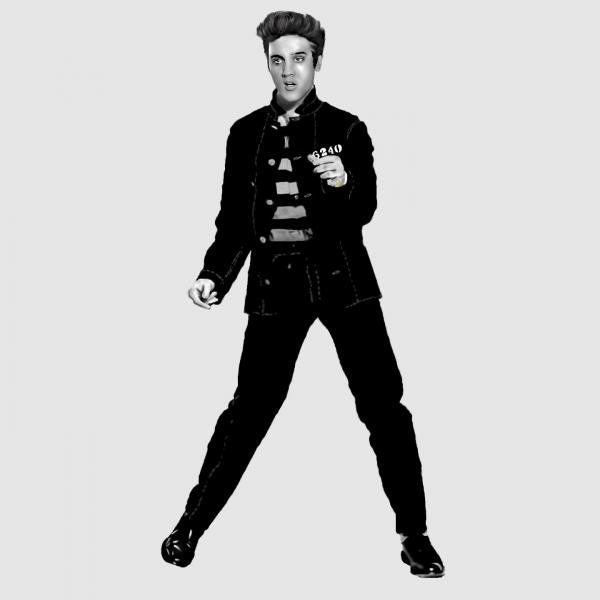 Elvis Presley by HeatherFeather